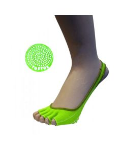 YOGA&PILATES - Anti-Slip Sole Footie Open Toe