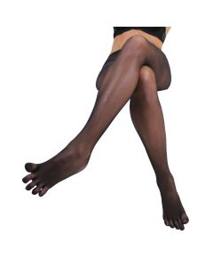 LEGWEAR - Plain Nylon Toe Tights