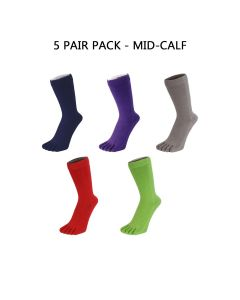 5 PAIR PACK - ESSENTIAL - HIGH-CREW