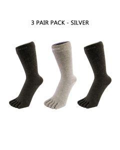 3 PAIR PACK - HEALTH - SILVER