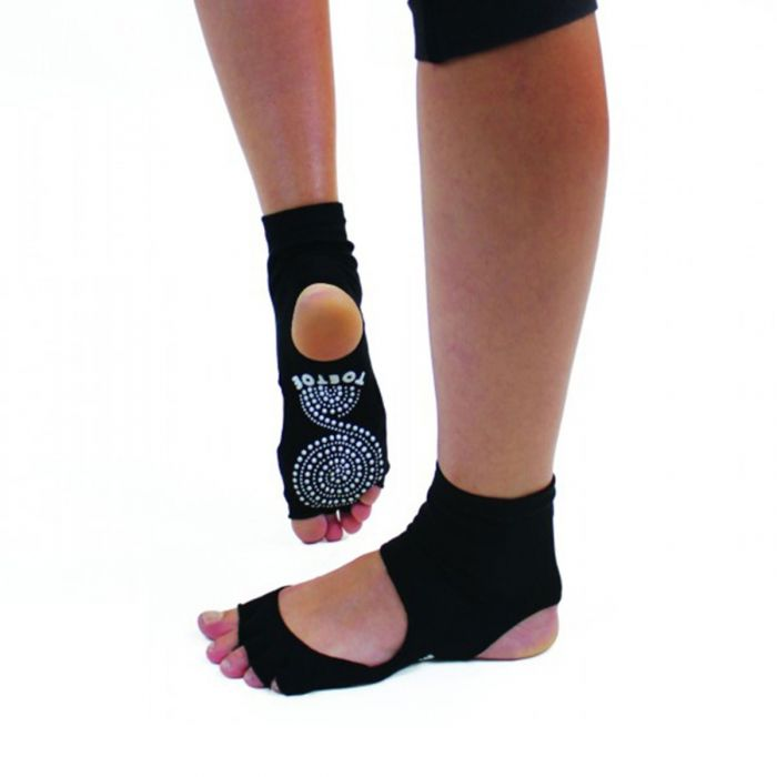 Anti-Slip Sole Open Toe Heel Toe Socks